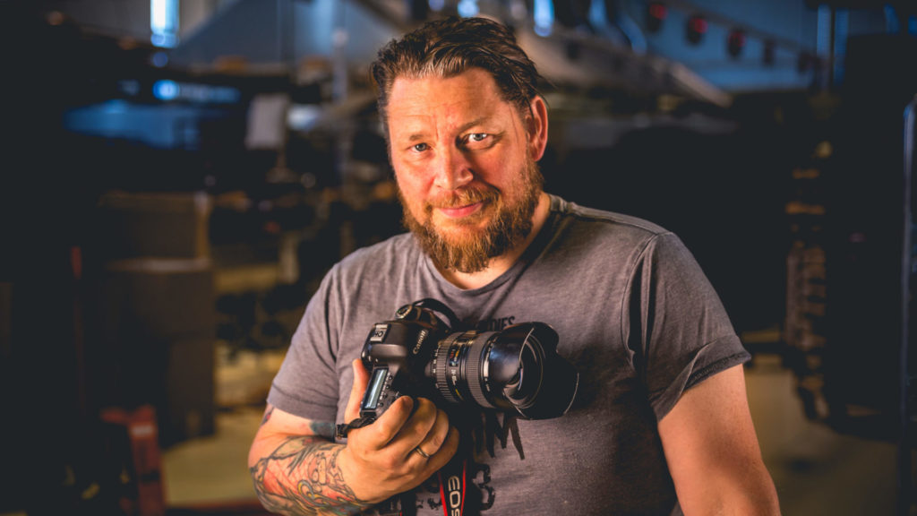 Tom Benjaminsen er fotograf i iNord.